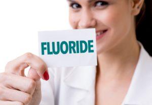 Fluoride at pediatric dentist in Greenfield